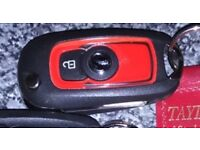 Lost car keys Saturday night. About 15 keys in total. Red Vauxhall car key.