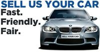 CASH FOR CARS TODAY! Call or text for free quote