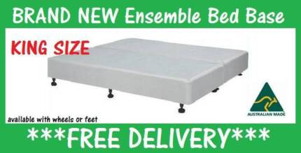DELIVERED FREE King Size Ensemble Base - BRAND NEW New Farm Brisbane North East Preview