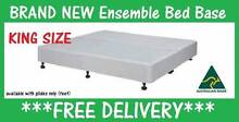 King Size Ensemble Bed Base for King Mattress DELIVERED FREE *NEW New Farm Brisbane North East Preview
