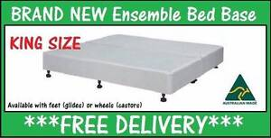 King Size Ensemble Bed Base for King Mattress DELIVERED FREE New Farm Brisbane North East Preview