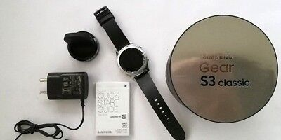 New Samsung Galaxy Gear S3 Outstanding SM-R775A AT&T BLUETOOTH Smart Watch Stainless