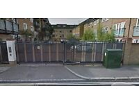 Private gated parking space for a car - Walworth Road / Elephant and Castle