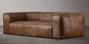High End Leather Couch For Sale