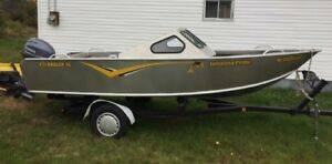 16 FT Collins Aluminum boat and 40 Yamaha motor