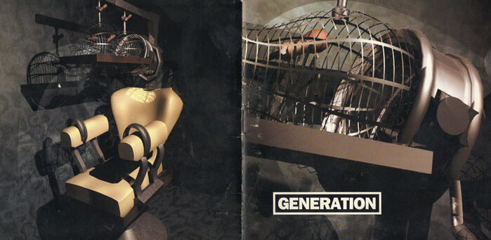 Generation - Brutal Reality - audio cassette tape