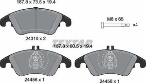 Special Offer for Front & Rear brake pads & sensors - Mercedes C London Ontario image 2