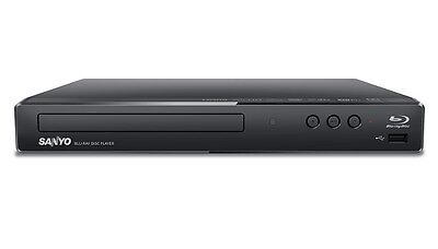 Sanyo RFWBP706F Blu-ray Disc/DVD Player with Built-in WiFi - Black