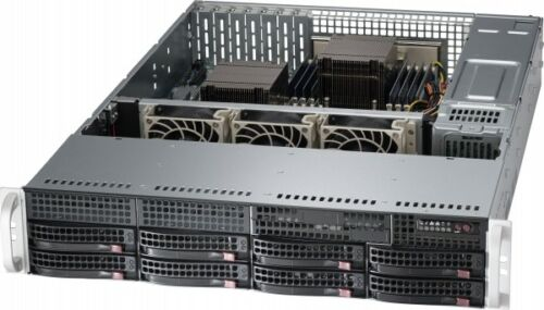 UXS Server FREENAS 2U 8 Bay 2x E5-2630 V1 6 Core 64GB RAM X9DR3-LN4F+ Supermicro