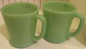 Pair of Jade Coffee Mugs