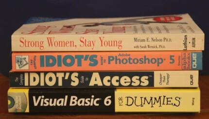 Idiot's Guide books Albany Creek Brisbane North East Preview