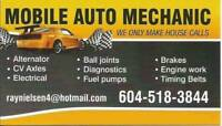 """Ray"" Mobile Auto Mechanic - 604 518-3844"