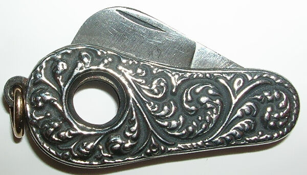 Sterling Silver Cigar Cutter