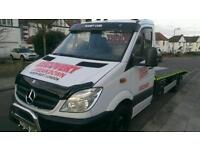 breakdown recovery service car and small van transport /collection in north west london