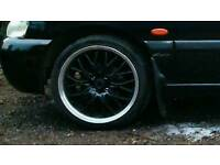 17inch alloy wheels with tyres