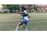 Sunday 4pm 5 a side women only football game in London need players