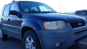 2001 Ford Escape XLT Limited 4x4