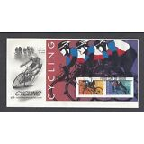 #3119, First Day Cover, Cycling Souvenir Sheet