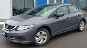 2015 Honda Civic LX - Certified |  Just arrived