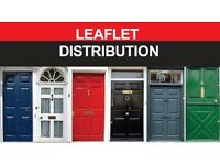 Door-to-door flyer distribution - BESPOKE PACKAGES - SOCIAL MEDIA REACH OF 8m ***special offer***