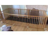 Baby Vivo wooden playpen