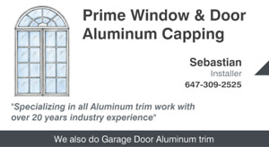 Prime Windows & Doors Aluminum Capping - Flashing