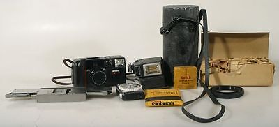 MISCELLANEOUS PHOTOGRAPHIC EQUIPMENT - CAMERAS,FLASHES,METERS,NIKON CASE
