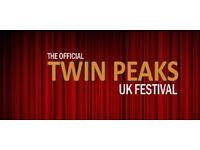 Twin peaks festival weekend tickets London x4
