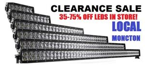 LED LIGHT BARS - LOCAL - CLEAR OUT SALE!!