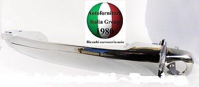 MANIGLIA PORTA ANTERIORE SX EST CROMATA C/FORO FIAT BRAVO 07> 5P 2007>