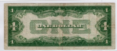 1928 Series $1 Silver Certificates!  *FUNNY BACK* Old US Paper Money!