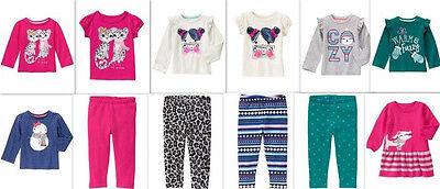 NEW Gymboree girls SNOWFLAKE FUN tee leggings sweater dress 3T 4T 5T YOU PICK