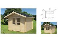 Isabel 28mm Log Cabin - 2.4m x 2.4m