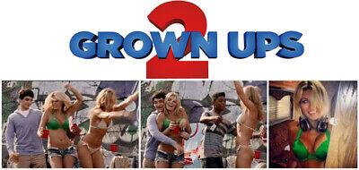 Grown Ups 2 Paulina Gretzky Sexy screen worn movie wardrobe bikini/shorts/shoes