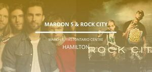 Maroon 5 in Hamilton - March 1, 2017 - Tickets Available Now!!!