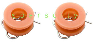 FORD-FALCON-WINDOW-REGULATOR-ROLLER-CIRCLIP-XK-XL-XM-XP-MUSTANG-PAIR-NEW
