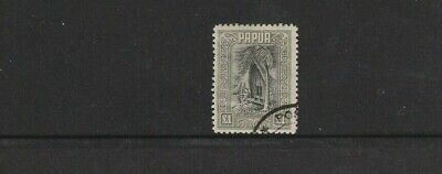 STAMPS   PAPUA 1932  ONE POUND  DELTA HOUSE    FINE USED