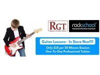 FREE Introductory Guitar Lesson @ Music City Sheffield