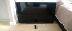 "Sony 46"" slim TV"