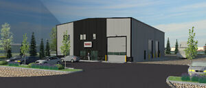 Commercial warehouse with office industrial