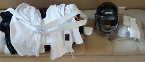 Kids karate sparring gear