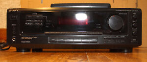Sony Stereo Receiver with speakers