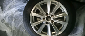 ORIGINAL BMW ALLOY WITH TYRE