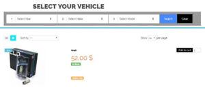 Car light bulb - special price