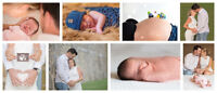 Photographies de grossesse et nouveau-né
