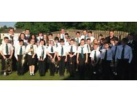 DYNAMICA YOUTH BAND EAST KILBRIDE SPACES FOR NEW JUNIOR BAND MEMBERS