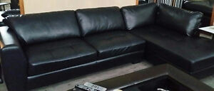 New Condition- Espresso Color Sectional