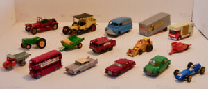 Vintage Matchbox and One Dinky Bundle