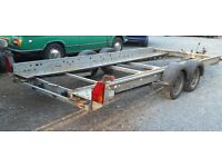 Woodford Car Transporter Trailer 2 ton Plated Braked 14x6 not Ifor Williams Brian James Indespension