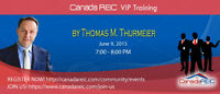 CanadaREIC VIP Creative Training with Thomas Thurmeier